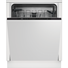 Beko DIN15C20 Full Size Integrated 14 Place Settings Dishwasher - A++ Rated