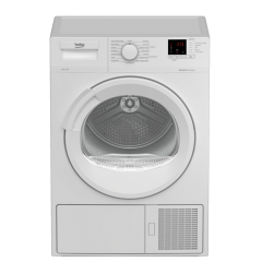 Beko DTLP81141W 8Kg Heat Pump White Tumble Dryer - A+ Energy Rated