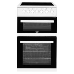 Beko EDVC503W Double Electric Cooker