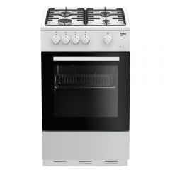 Beko ESG50W 50cm Single Oven White Gas Cooker