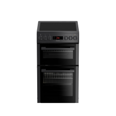 Blomberg HKS951N 50Cm Double Oven Electric Anthracite Cooker With Ceramic Hob - A Energy Rated