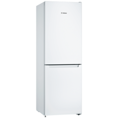 Bosch KGN33NWEAG 60Cm Frost Free White Fridge Freezer - A++ Energy Rated