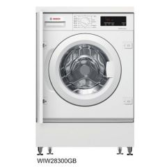 Bosch WIW28301GB Integrated 8Kg 1400 White Washing Machine