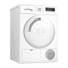 Bosch WTN83201GB 8Kg Condenser White Tumble Dryer - B Energy Rated