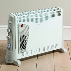 Daewoo HEA1137GE 2Kw Convector Heater With Turbo Fan And Timer