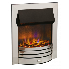 Dimplex TRR20CH Torridon 2Kw Chrome Optiflame 3D Electric Inset Fire