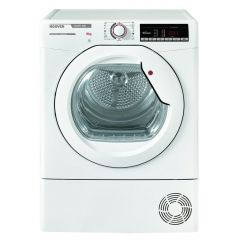 Hoover HLXC8DG 8Kg Condenser White Tumble Dryer - B Energy Rated