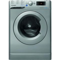 Indesit BWE91483XSUKN 9Kg 1400 Silver Washing Machine - A+++ Energy Rated