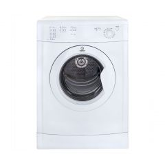Indesit IDV75 7Kg Refresh Option Vented White Tumble Dryer - B Energy Rated