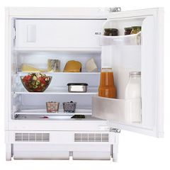 Montpellier MBUR200 Built-Under Fridge With Ice Box