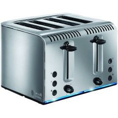 Russell Hobbs 20750 Buckingham 4-Slice Polished Stainless Steel Toaster