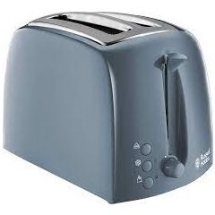 Russell Hobbs 21644 Textures Two Slice Grey Toaster