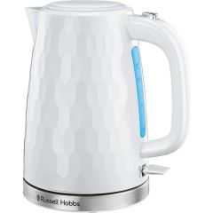 Russell Hobbs 26050 2.4Kw 1.7 Litre White Honeycomb Collection Kettle
