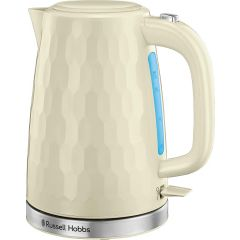Russell Hobbs 26052 2.4Kw 1.7 Litre Cream Honeycomb Collection Kettle