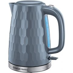 Russell Hobbs 26053 2.4Kw 1.7 Litre Grey Honeycomb Collection Kettle