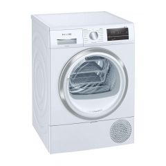 Siemens WT47RT90GB 9Kg Heat Pump White Tumble Dryer