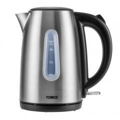 Tower T10015 3Kw 1.7 Litre Brushed Stainless Steel Jug Kettle