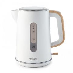 Tower T10037 3Kw 1.7 Litres Scandi White Jug Kettle