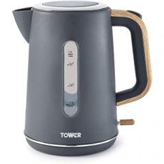 Tower T10037G 3Kw 1.7 Litres Scandi Grey Jug Kettle
