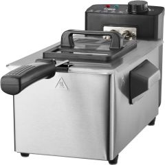 Tower T17048 2Kw 3 Litre Stainless Steel Deep Fat Fryer