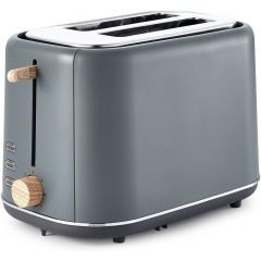 Tower T20027G Scandi 2 Slice Grey Toaster