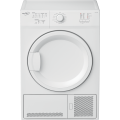 Zenith ZDCT700W 7Kg Condenser White Tumble Dryer - B Energy Rated